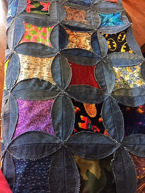 Free Denim Rag Quilt Pattern