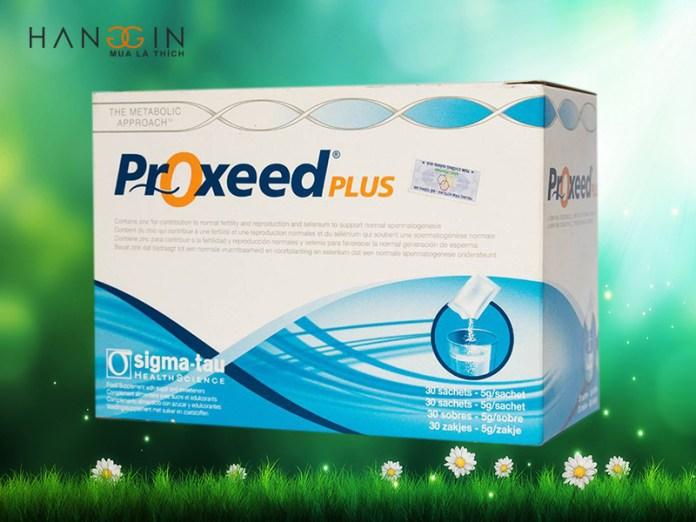Sử dụng proxeed plus chính hãng giúp bảo vệ sức khỏe của bạn