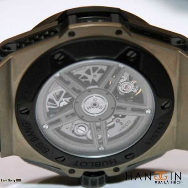 Hublot Big Bang Ferrari Magic Gold - 4