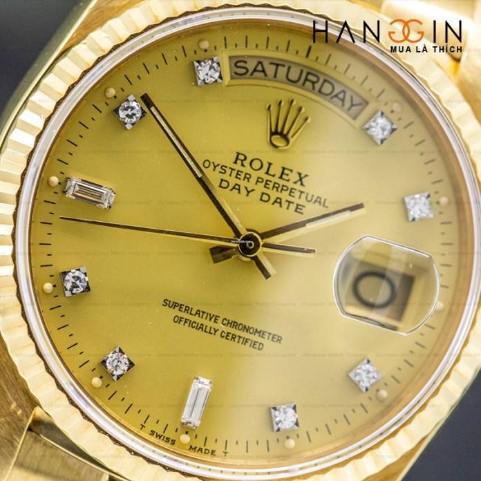 Rolex 18038 DAY-DATE Champagne - 2