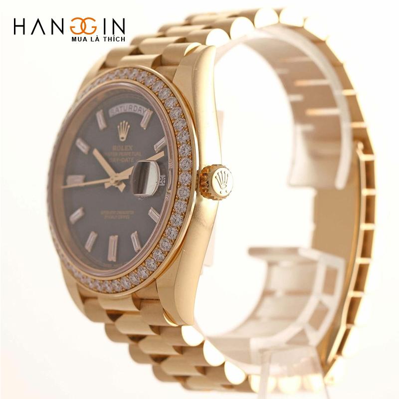 Đồng hồ mạ vàng nam - 1