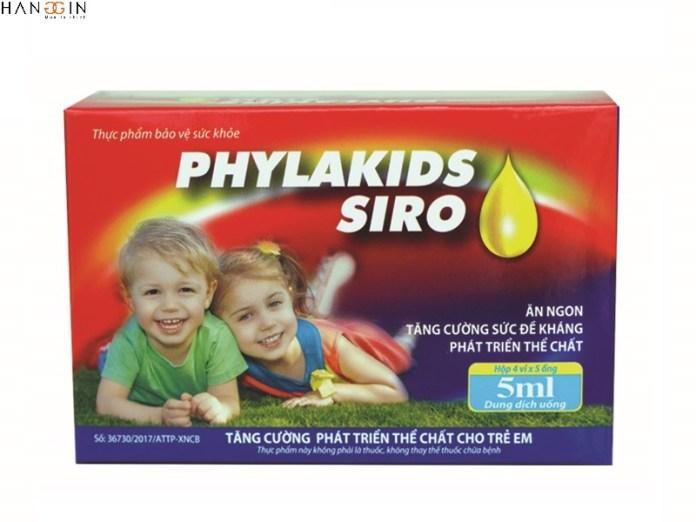 Siro phylakids dành cho trẻ biếng ăn từ 1 tuổi trở lên