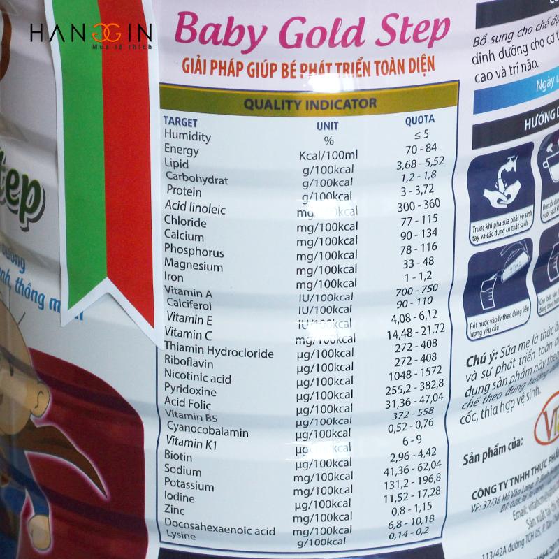 Sữa Baby Gold - Giải pháp dinh dưỡng giúp bé phát triển toàn diện