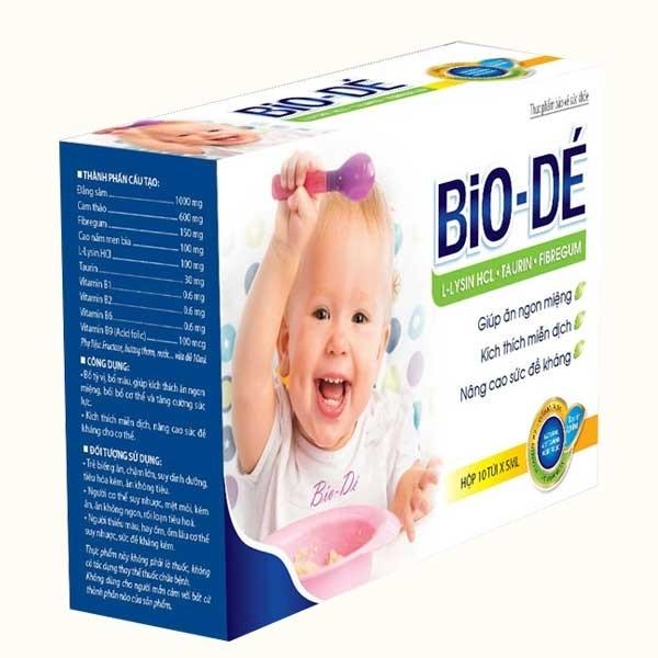 Siro Bio-Dé dành cho trẻ biếng ăn