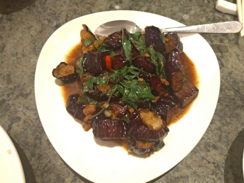 清宮段茄 茄子の炒め物