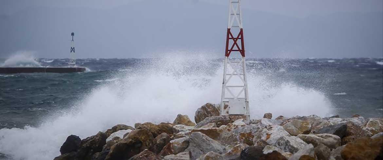 Σε Φαλάσαρνα - Παλαιόχωρα οι μέγιστες ριπές ανέμου στα Χανιά