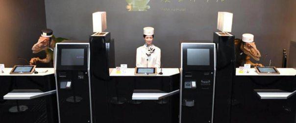 Ξενοδοχείο απέλυσε το μισό… ρομποτικό προσωπικό του (εικόνες)