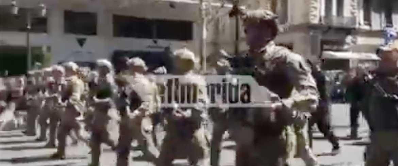 Τα «βατράχια» του Λιμενικού τραγούδησαν το «Μακεδονία ξακουστή» παρά την απαγόρευση (βίντεο)