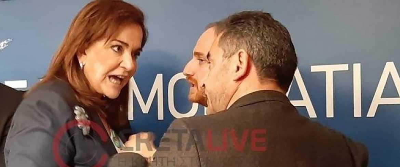 Επεισόδιο με Ντόρα και στελέχη της ΝΔ για τη... μη στήριξη στον Δήμο Ηρακλείου