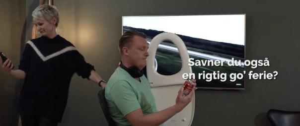 Ευρηματικό βίντεο δείχνει πόσο πολύ έχουν ανάγκη για διακοπές στην Ελλάδα οι Δανοί