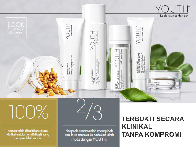 Produk Spa YOUTH Shaklee