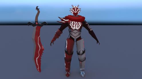 Sword and Chara comparison