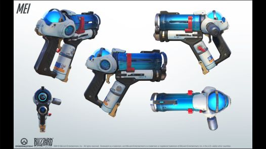 Mei's Endothermic Blaster