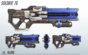Soldier 76's Heavy Pulse Rifle