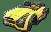 Mario Kart 8 Sports Coupe Body