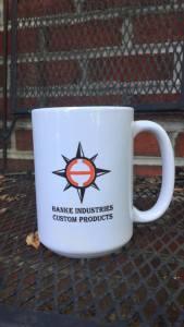 Hanke Industries Custom Coffee Cup
