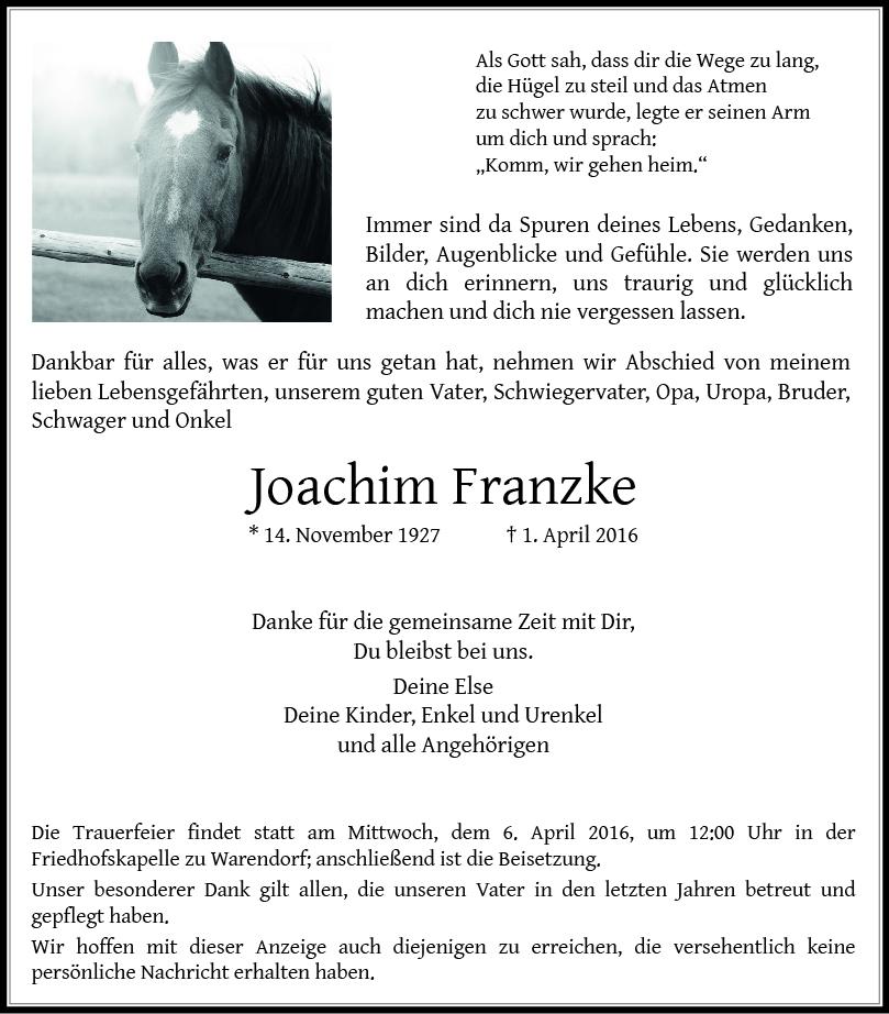 Franzke, Joachim