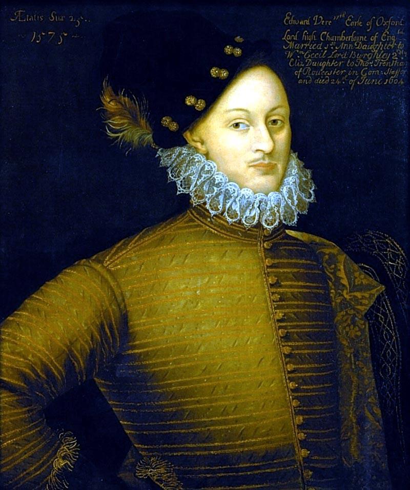 Edward de Vere Earl of Oxford 1575