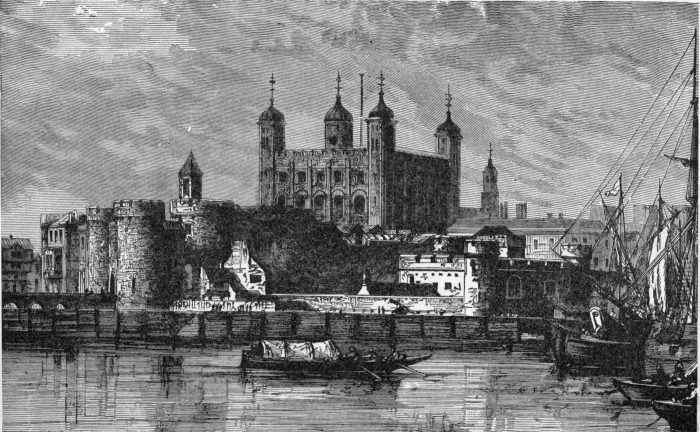 The Tower of London: Where Southampton was Held Hostage to keep Oxford silent until the succession of James