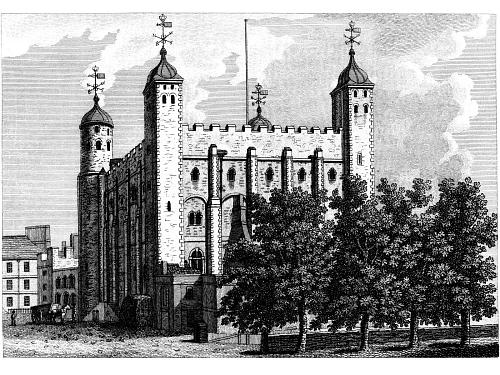 "The Tower of London - Where Southampton is ""like a jewel hung in ghastly night"" facing execution for high treason"