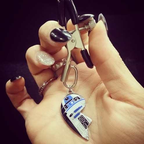 R2D2 Nipple Clamp!