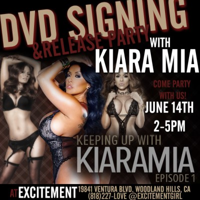 DVD Signing & Release Party with Kiara Mia