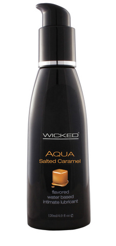 Wicked Aqua Salted Caramel Water-Based Lubricant