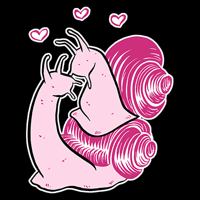 Anal Safety Snails Shirt by Erika Moen