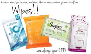 Just a few wipes that are available out there.