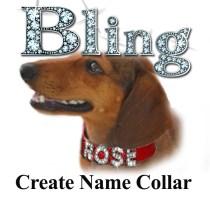 Bling Create Name Collar
