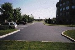SWEPCO Pavron is a smooth, black emulsion sealer designed to protect both old and new asphalt pavement from moisture and oxidation