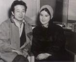 Choi Eun-Hee z wówczas byłym mężem Shin Sang-ok