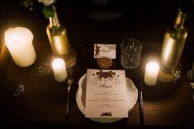 Boho Hochzeit Gold Menükarte Platzkarte Tischkarte Rosen Bohemian Natur