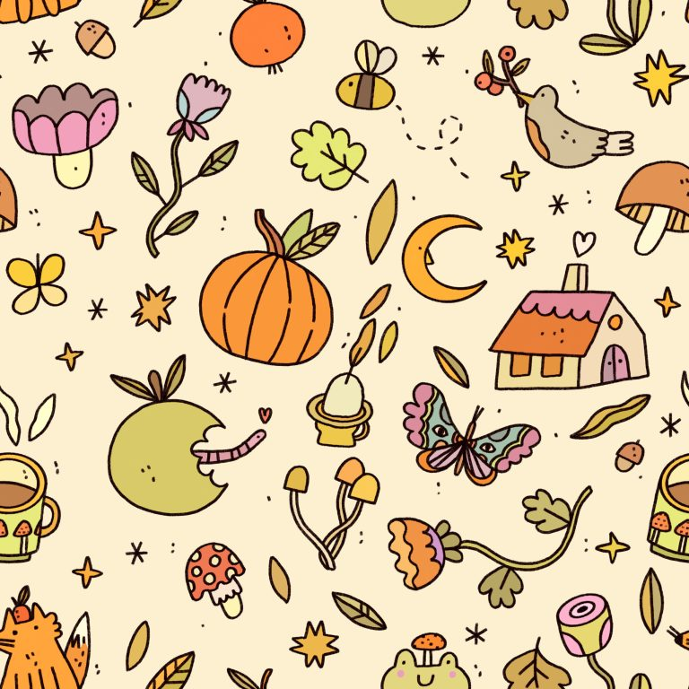 A Collection of Illustrated Patterns