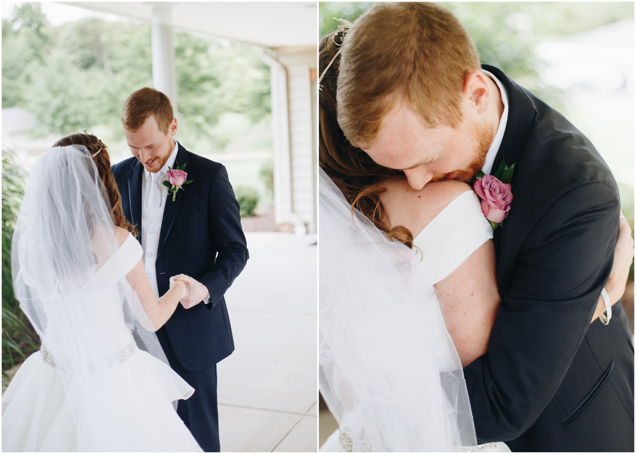 first look - washington dc wedding