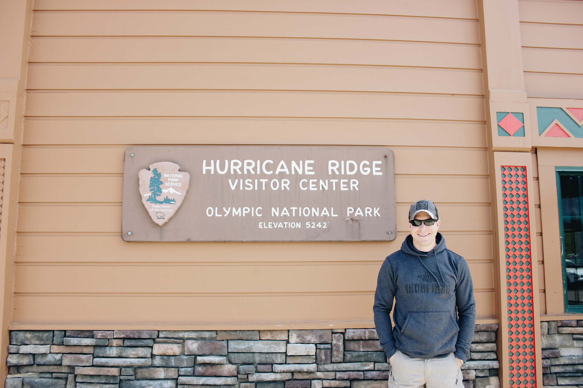 hurricane ridge visitor center, washington