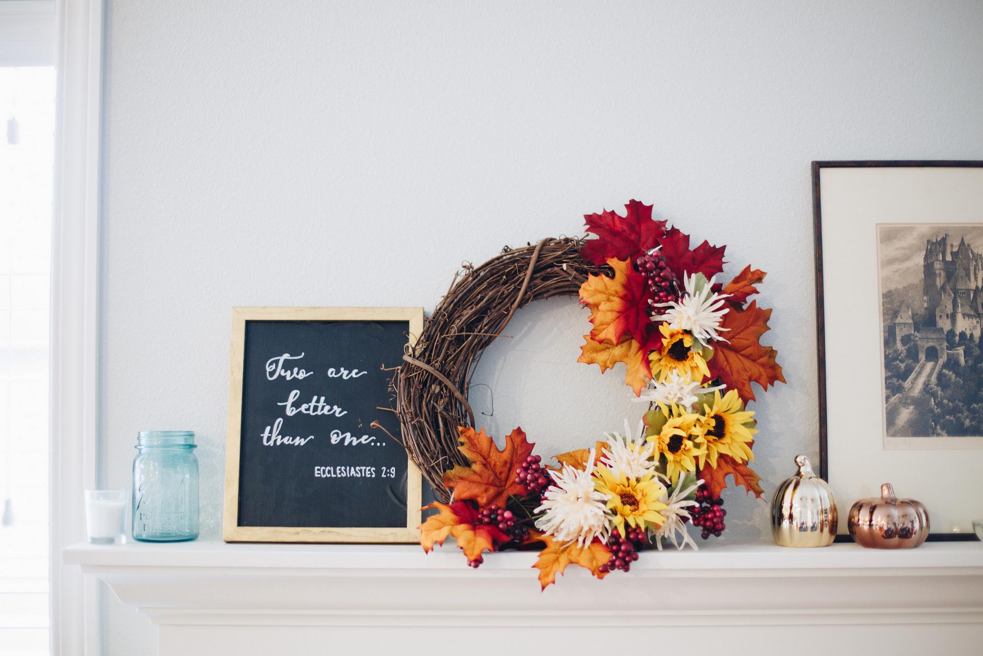 diy-wreath house decor