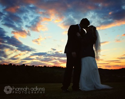 Gibson Wedding Sunset
