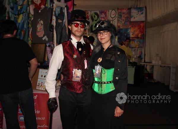 Steampunk Cosplayers