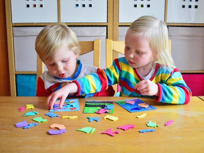 My Busy Bots preschool activity