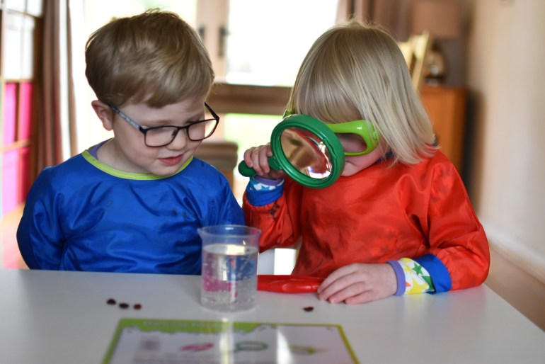 kids science experiment
