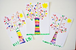 easy finger painting activity
