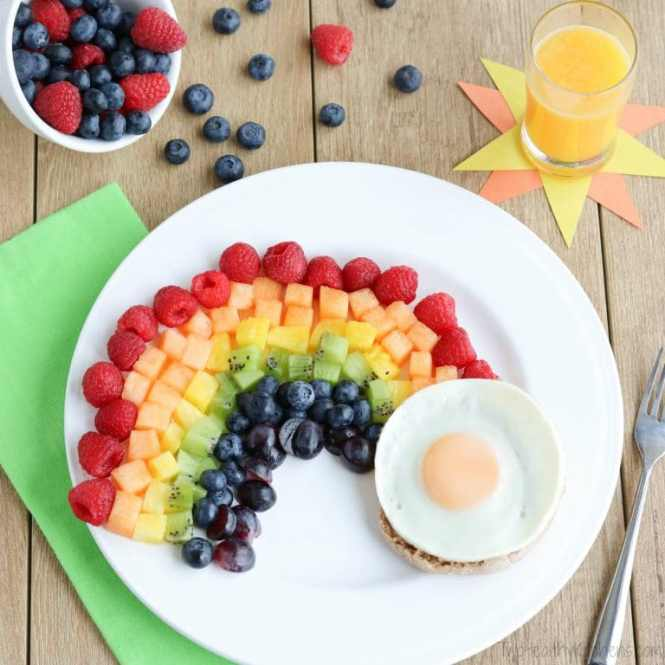 fruit rainbow recipe