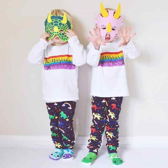 rainbow masks