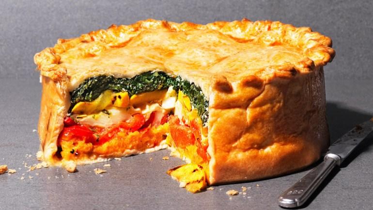 rainbow vegetable pie recipe