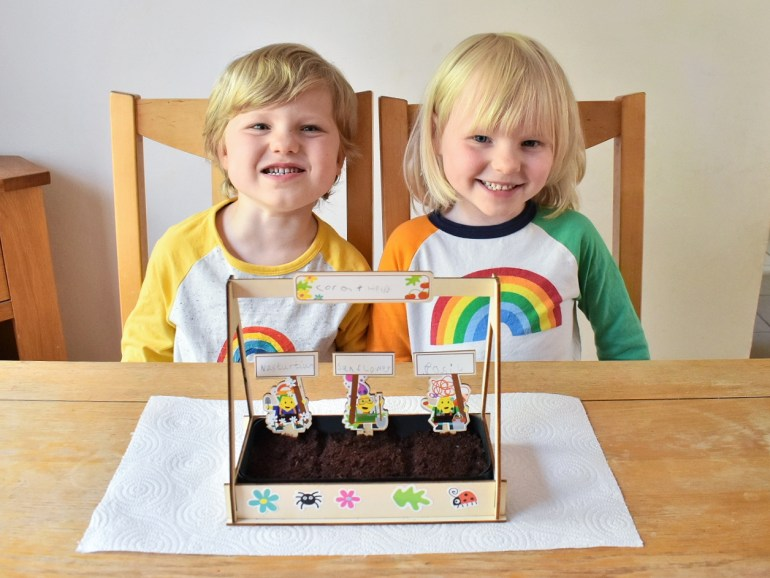 mini greenhouse activity toucanbox craft kit review