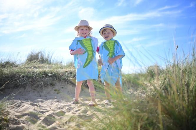 disastrous family beach day