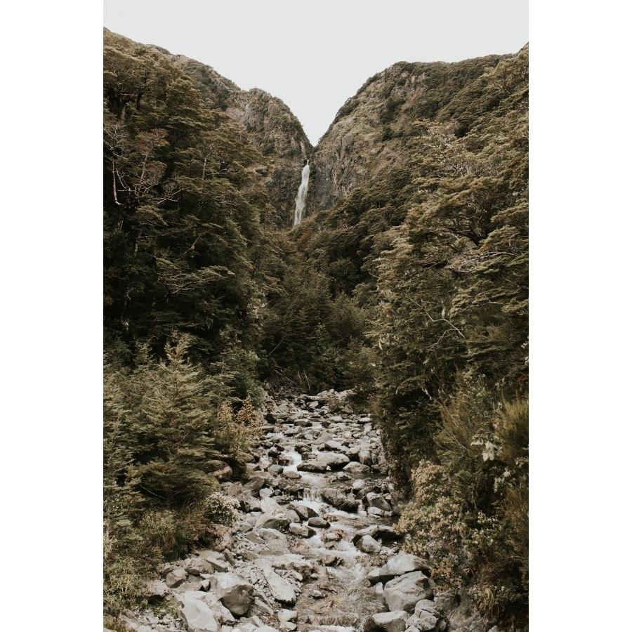 West Coast Waterfall By Hannah Bird