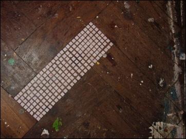 floor, squares