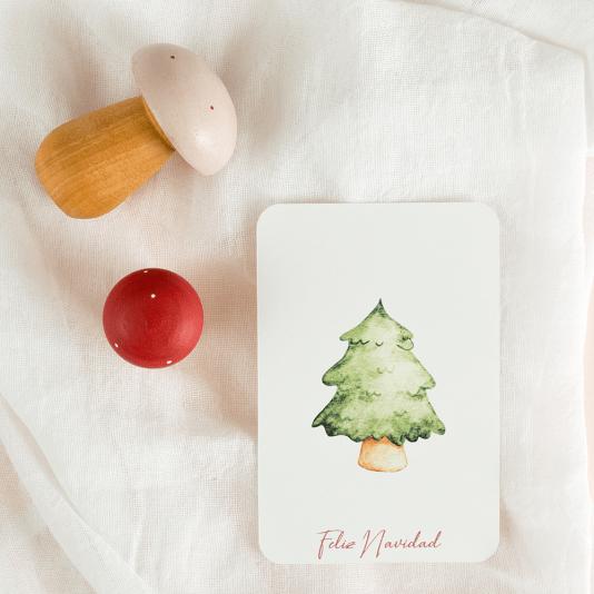 Postales Navidad Kids Imprimibles by Hannah Creates